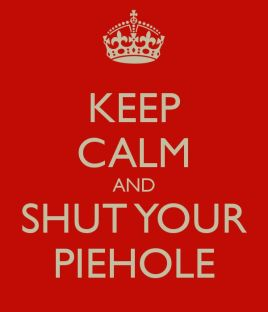 Keep Calm Pie Hole