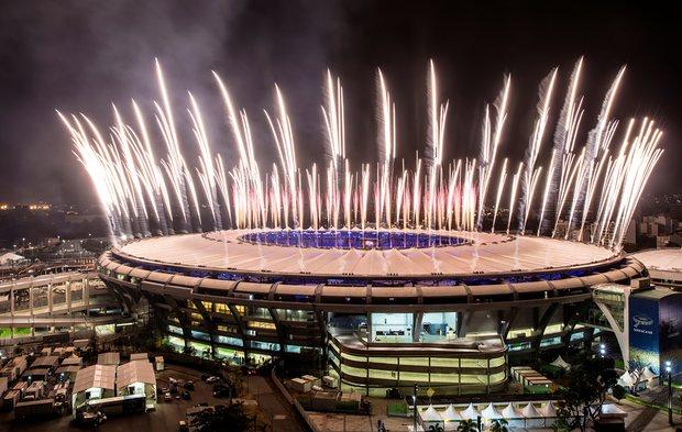 Olympic Fireworks