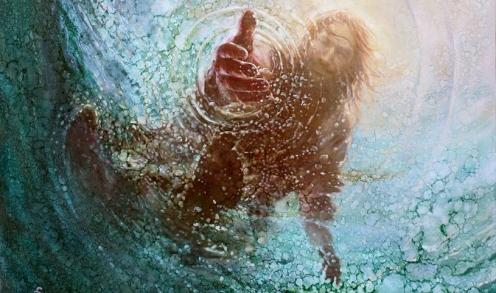 jesus-reaching-down
