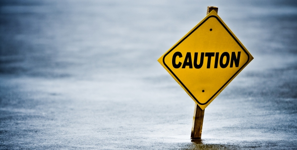 Pastor Caution Sign