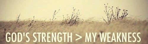 strength in weakness